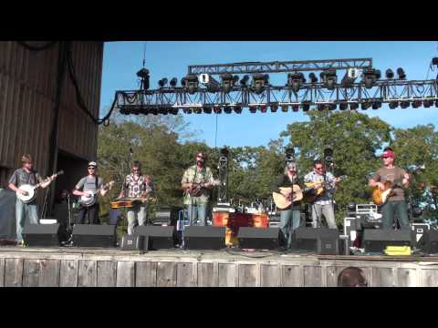 "Emmitt-Nershi Band w/Infamous Stringdusters - ""Gold Hill Line"" Yonder Harvest Fest. 2010 HD tripod"