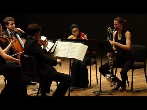 "Ensemble ACJW Performs David Bruce`s ""Gumboots"""