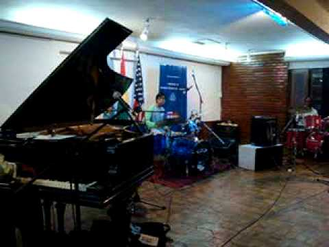 Eric Byrd Trio en CBA Cochabamba 3