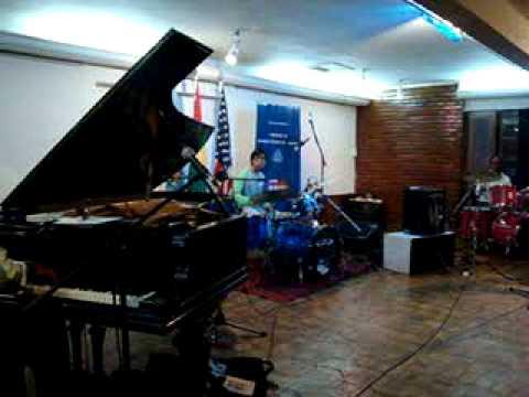 Eric Byrd Trio en CBA Cochabamba 3
