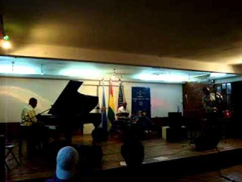 Eric Byrd Trio en CBA Cochabamba 1