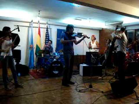 Eric Byrd Trio en CBA Cochabamba 4