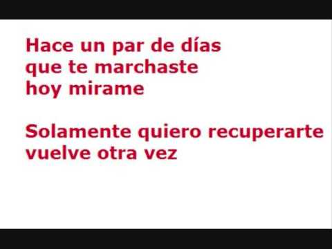 ESPINOZA PAZ- LO INTENTAMOS (LETRA)