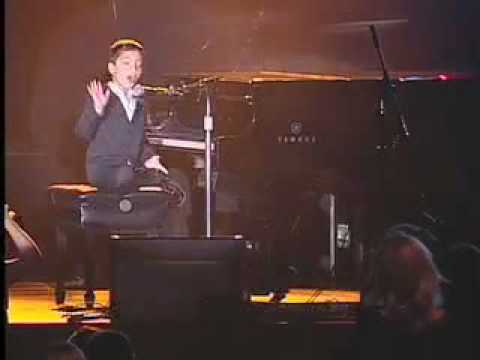 Ethan Bortnick performs at OneXOne (7 years old)