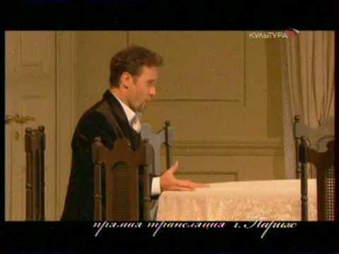 Mariusz Kwiecien - Onegin`s aria - Eugene Onegin 2008