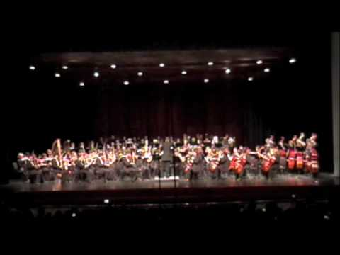 "Romeo and Juliet: ""Masks"" - Prokofiev (2009 TMEA Region 26 HS Symphony Orchestra)"