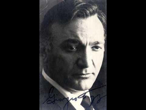 "Giorgio Tozzi live in 1957 - ""Confutatis"" from Verdi`s Messa da Requiem"