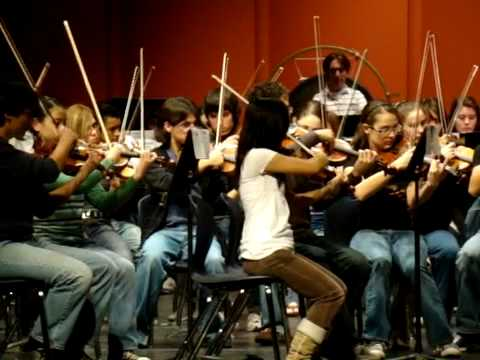 "El Paso 2009 All-Region High School Symphony Orchestra ""An Outdoor Overture"""