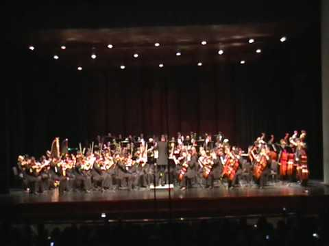 Pavane for a Dead Princess - Ravel (2009 TMEA Region 26 HS Symphony Orchestra)