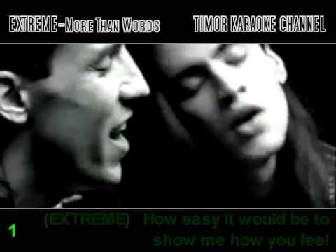 More Than Words***EXTREME Feat YOU****