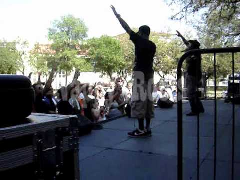 Eyes Burn Electric - Tour Diary - UTSA - Opening for Nappy Roots