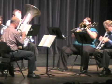 Can Can brass quintet