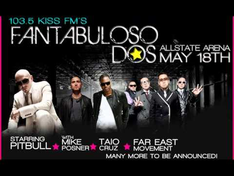 103.5 KISS FM CHICAGO`S FANTABULOSO DOS CONCERT 2011