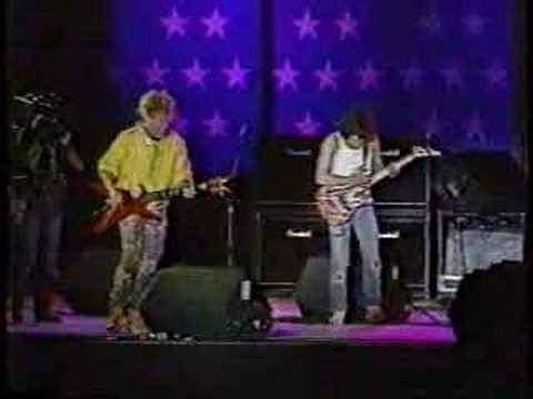 "1985 Sammy Hagar & Eddie Van Halen ""Rock and Roll""(Farm Aid)"