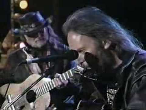 Neil Young w/Willie Nelson Farmer`s Song