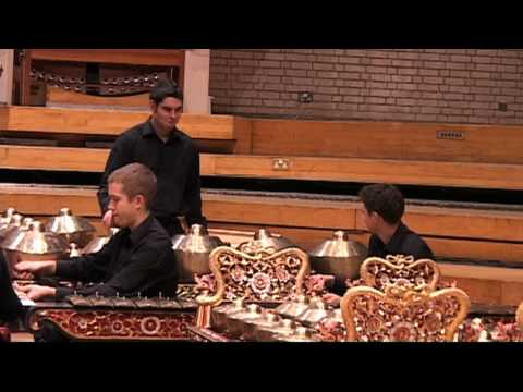 Finn Peters Butterflies `Angklung` Part One LIVE RNCM Gamelan