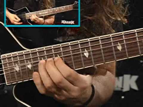 Gus G. - Firewind - Young Guitar (Part I)