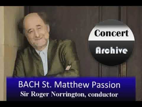 BACH St. Matthew Passion complete (part 1) ( 6/8)