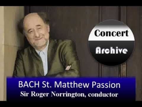 BACH St. Matthew Passion complete (part 1) ( 8/8)