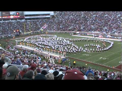 Marching Chiefs Half-time Show FSU vs UF 2010!