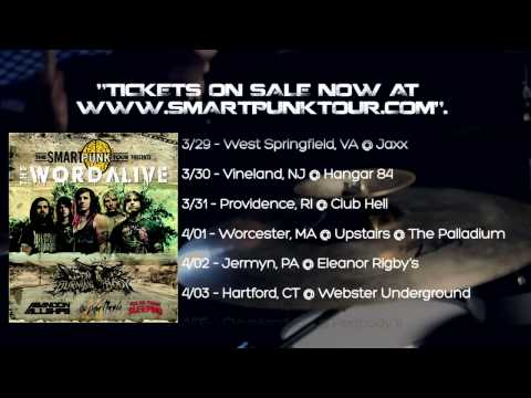 The Word Alive - Smartpunk Tour Trailer