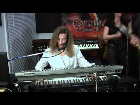 """Demonic Rise"" - Forewarned ""The Resurrection of Rock and Roll"" (Live at the studio)"