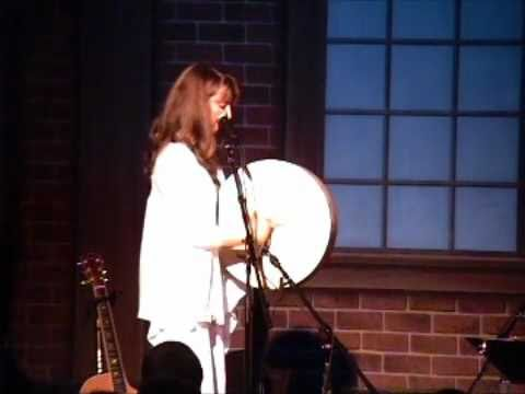 Debi Smith on Irish Bodhran, live at The Birchmere