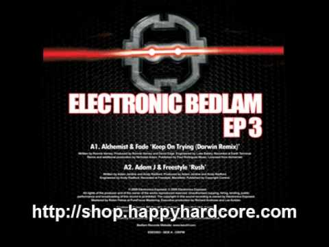 Adam J & Freestyle - Rush, Electronic Bedlam - EBED003