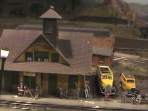 Freight Train- Boy Scout 100th Anniversary model railroad