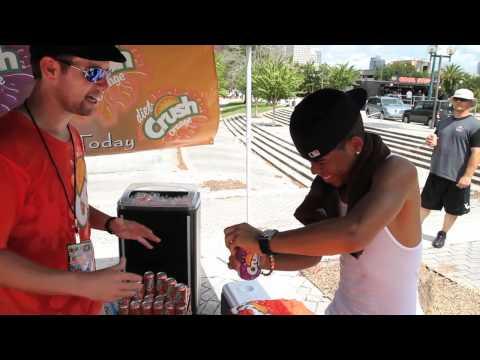 Aaron Fresh and Crush at Teen Island Fan Fest