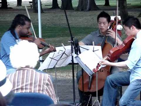 Infinitus String Trio @ 2010 Richmond Concerts in the Park Part III