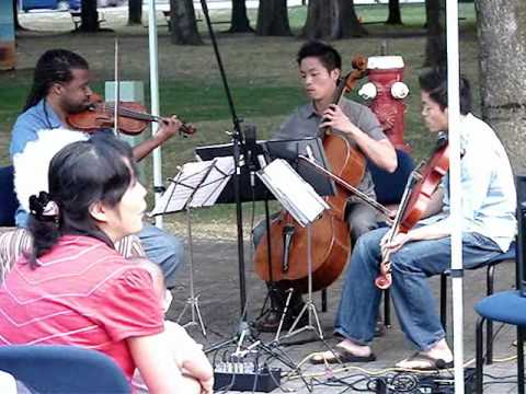 Infinitus String Trio @ 2010 Richmond Concerts in the Park Part II