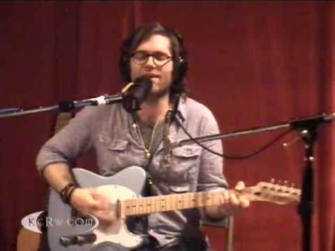 "Fruit Bats performing ""Never Tear Us Apart (Cover)`"