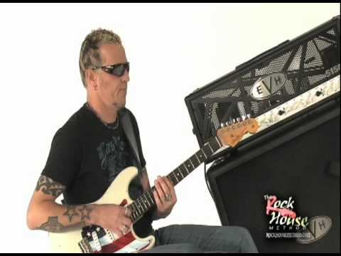 Gary Hoey on the Set w/Rock House EVH 5150 III