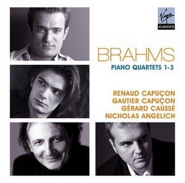 Renaud & Gautier Capu�on, G�rard Causs�, Nicholas Angelich - Brahms: PIano Quartets