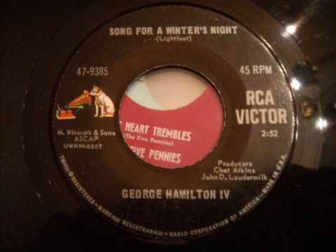 George Hamilton IV - Song For A Winter`s Night - Nice 60`s Pop / Folk song