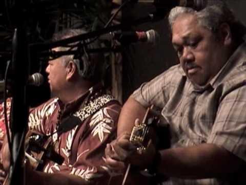 "Slack Key Show - Masters of Hawaiian Music: multi-artist show -""Henehene Kou Aka"" fragment"