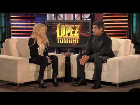 """Shakira on """"Lopez Tonight"""" (10/18/2010)"""