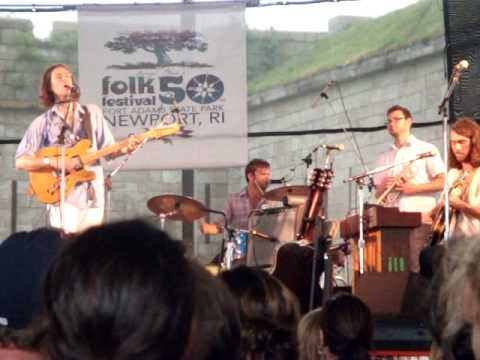 "Elvis Perkins at the 50th Newport Folk Festival 2009 ""Stay Zombie"""