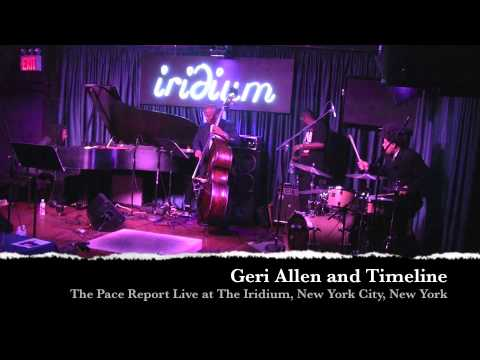 "The Pace Report: ""Time on the Line"" The Geri Allen Interview"
