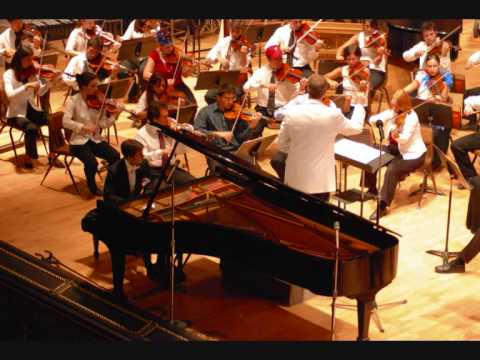 Gershwin, Rhapsody in blue 2/2 - Mauro Bertoli live with Texas Festival Orchestra 2007