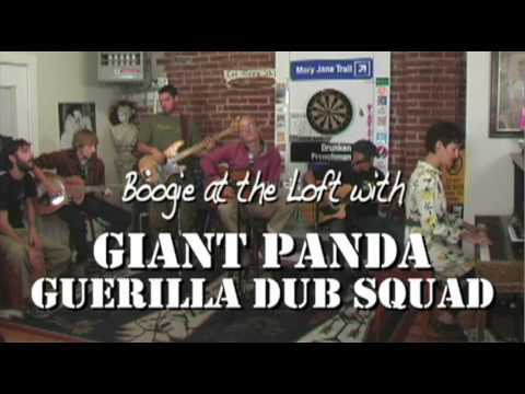 "GIANT PANDA GUERILLA DUB SQUAD ""Glide"" - acoustic (preview)"