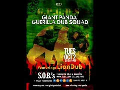 Ginger Juice - Giant Panda Guerilla Dub Squad