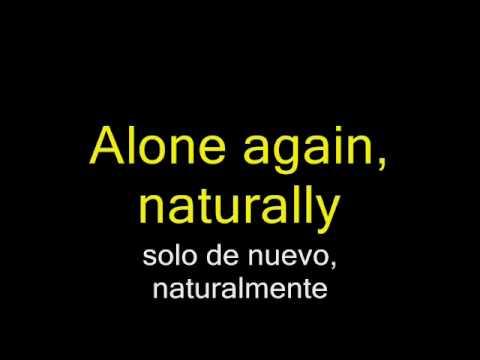 Alone Again - Gilbert O`Sullivan (Subtitulada)