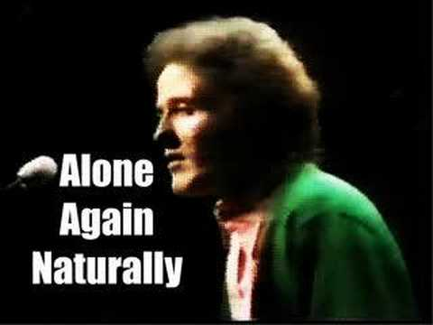 ALONE AGAIN (NATURALLY) - Gilbert O`Sullivan (cover)