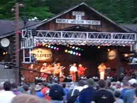 Waybacks w/ Bob Weir - Merlefest 2006 - Like a Rolling Stone