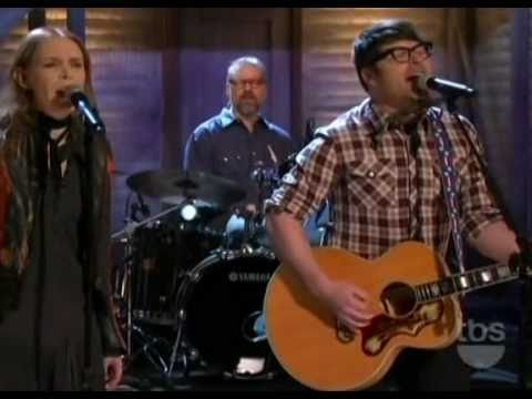 The Decemberists feat. Gillian Welch - Down By The Water (Live on Conan)