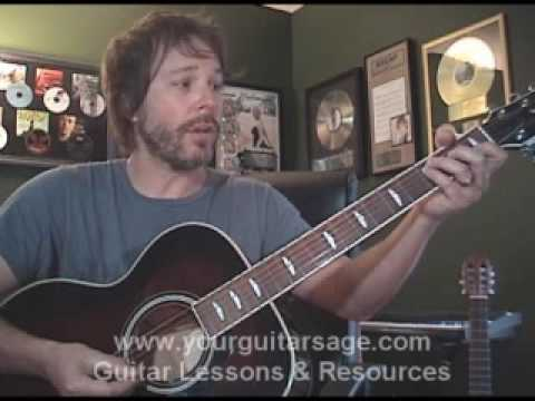 Guitar Lessons - Big Girls Don`t Cry by Fergie - cover lesson Beginners Acoustic songs