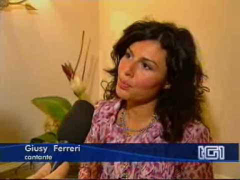 """TG1 - Giusy Ferreri torna con """"Novembre"""""""