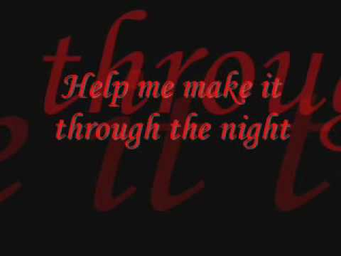 Gladys Knight & the Pips - Help Me Make It Through the Night